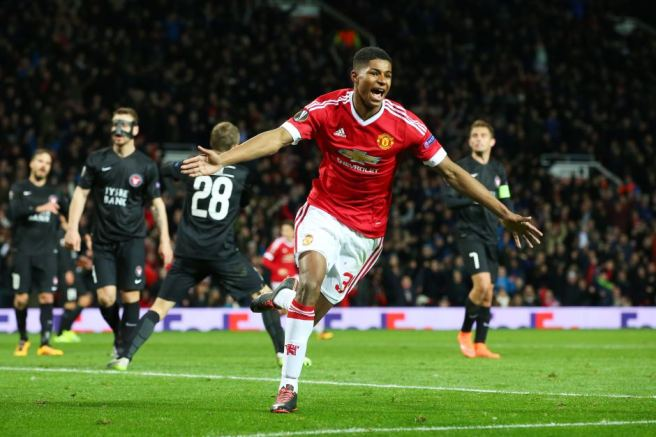 Manchester United's Marcus Rashford has been prolific in front of goal - ABC.net.au