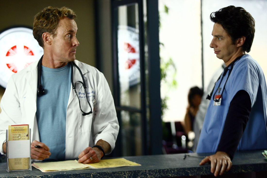 Scrubs JD & Dr. Cox - News from the Boston Becks